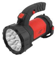 Svítilna montážní LTC 15+12 LED, 1200 mAh, nabíjecí červená