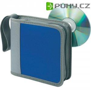 Brašna pro 28 CD modrá, šedá 28 CD/DVD (š x v x h) 164 x 174 x 45 mm