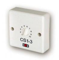 Časový spínač CS1-3 schodišťový automat bez blokování