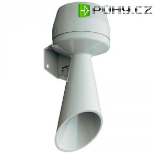 Houkačka Werma 582.052.55, stálý tón, 170 x 70 mm, 24 V/DC, 92 dB, 70 mA, IP33