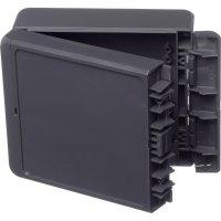 Univerzální nástěnné pouzdro ABS Bopla 96033224, (d x š x v) 125 x 151 x 60 mm, šedá