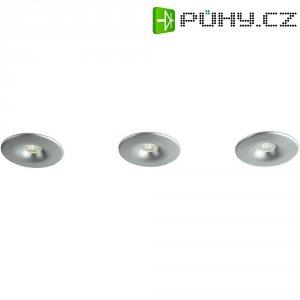 Vestavné LED osvětlení Philips Merope, sada 3 ks, 3x 2,5 W, hliník (598434816)
