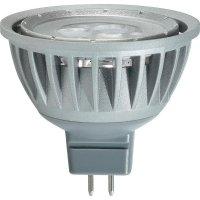 LED žárovka Renkforce MR16, GU5.3, 4 W, 12 V, 46 mm, teplá bílá