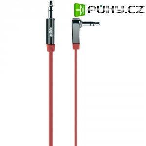 Připojovací kabel Belkin, jack zástr. 3.5 mm/jack zástr. 3.5 mm, červený, 0,9 m