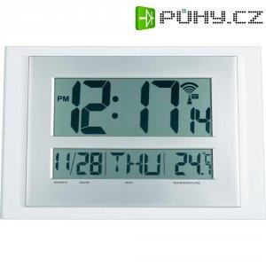 Digitální nástěnné Renkforce DCF hodiny Slim, A401, bílá