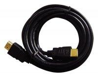 Kabel HDMI - HDMI 2m (gold,ethernet)