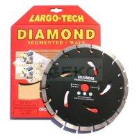 Kotouč diamantový řezný, segmentový, 230x22,2x10mm, GEKO