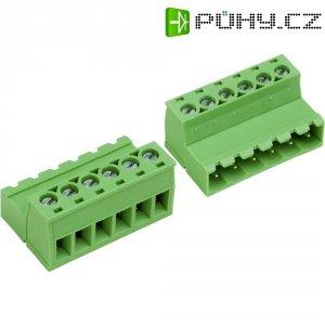 Šroubová svorkovnice PTR AKZ950/2-5.08-INV (50950027028F), 5,08 mm, světle zelená