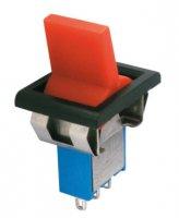 Přepínač páčkový 3pol./3pin ON-OFF-ON plastic/II 12V