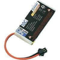 Akupack Li-Pol (modelářství) 3.7 V 1300 mAh 10 C Conrad energy zásuvka Slow-Flyer