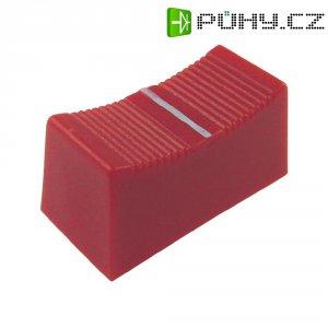 Krytka na přepínač Cliff CP3175, CS, 6/8 mm, červená