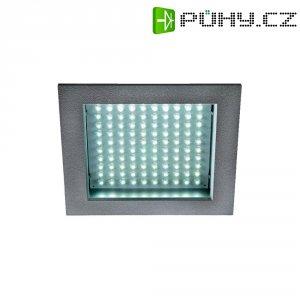 Vestavné LED osvětlení SLV LED Panel 100 8,5 W, teplá bílá, rámeček stříbrný/šedý