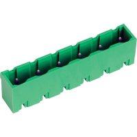 Svorkovnice PTR STLZ960/7G-7.62-V (50960075121D), 7pól., zelená
