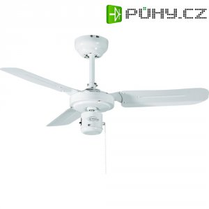 Stropní ventilátor Westinghouse Industrial, Ø 90 cm, bílá/bílá
