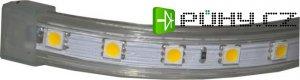 LED pásek 230V bílý teplý, 60xLED5050/m, IP65, modul 1m