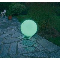 Solární svítící koule Esotec, Trendy 30 cm