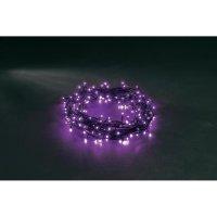 Venkovní vánoční světelný řetěz Konstsmide, 120 LED, fialový