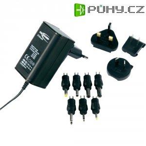 Síťový adaptér s redukcemi a zástrčkami Ansmann APS 300, 3 - 12 V/DC, 3,6 W