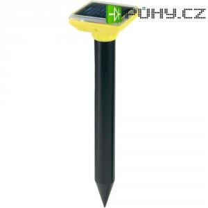 Solární odpuzovač mravenců, účinost: 700 m², 400 Hz, černá/žlutá