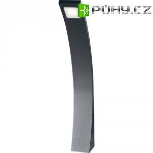 Venkovní sloupové LED osvětlení Curve, 3 W, 570 mm, antracit