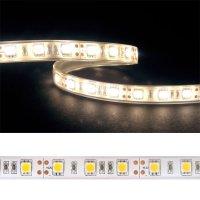 LED pásek 5050 60LED/m IP68 14.4W/m bílá teplá (1ks=5cm) voděodolný