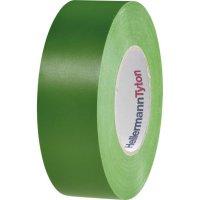 Izolační páska HellermannTyton HelaTapeFlex 1000+, 710-00606, 19 mm x 20 m, zelená