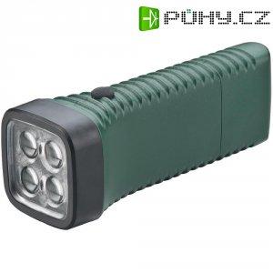 Kapesní LED svítilna AccuLux MultiLED, 413262, 100 - 240 V/50 - 60 Hz, zelená