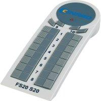 10-kanálové bezdrátové dálkovéovládání S20-3 FS20