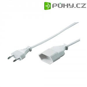 Prodlužovací Euro kabel, 5 m, bílá