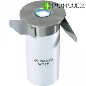 Vestavné LED svítidlo kulaté, 0,3 W, bílá