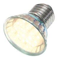 Žárovka LED E27/230V (20x) - bílá teplá
