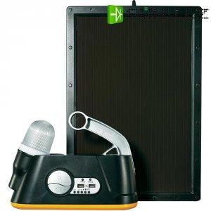 Kempingová solární svítilna + Powerbank Voltcraft, 6 W, 2000 mA, USB, 2 A