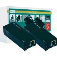 Extender (prodlužovač) VGA ⇒ LAN ⇒ VGA, Digitus DC-53101