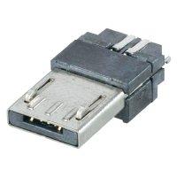 Micro USB konektor 5pól. Typ A BKL Electronic 10120260, zástrčka rovná