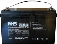 Pb akumulátor MHB VRLA AGM 12V/90Ah polotrakční