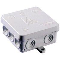 Rozbočovací krabice do vlhkých prostor Wiska KA 12, IP54, bílá, 10060890