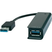 USB 3.0/USB 2.0 kombi hub, 4-portový