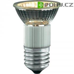 Halogenová žárovka Sygonix, E27, 20 W, 73 mm, stmívatelná, teplá bílá
