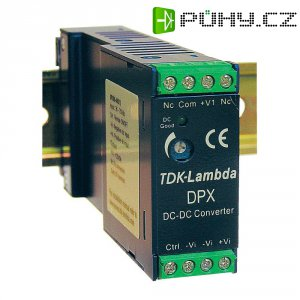 Zdroj na DIN lištu TDK-Lambda DPX-15-48WS-12, 1,25 A, 12 V/DC