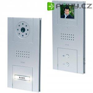 Domácí videotelefon m-e, VD 5210, 1 rodina, stříbrná
