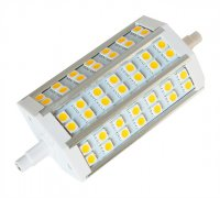 Žárovka LED R7s 8W 118mm bílá teplá