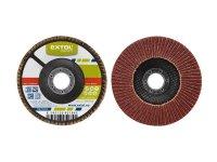 Kotouč lamelový šikmý korundový, P120, 115mm, KORUND, EXTOL CRAFT 260012