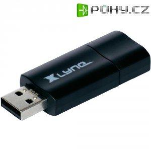 USB flash disk Xlyne Wave 7116000, 16 GB, USB 2.0, černá, oranžová