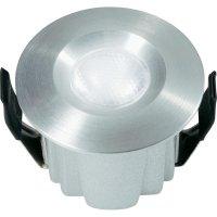 Vestavné LED osvětlení Alba DE-230F-1, 2,5 W, stříbrná/šedá/hliník