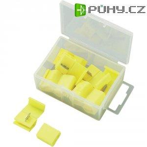 Rychlosvorka, 93014c679, 4 - 6 mm², 2pólová, žlutá, 10 kusů