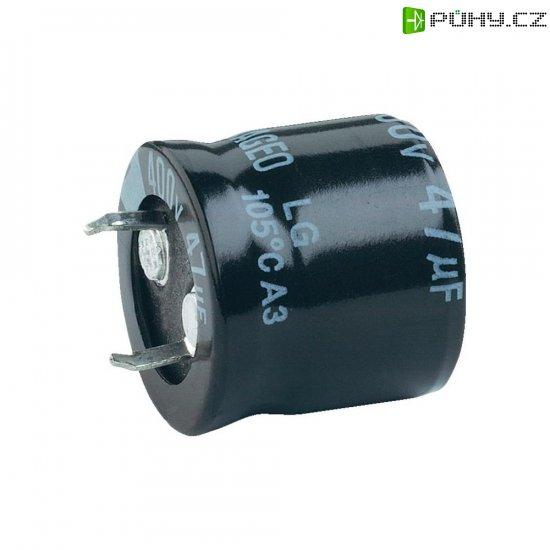Snap In kondenzátor elektrolytický, 2200 µF, 100 V, 20 %, 40 x 35 mm - Kliknutím na obrázek zavřete
