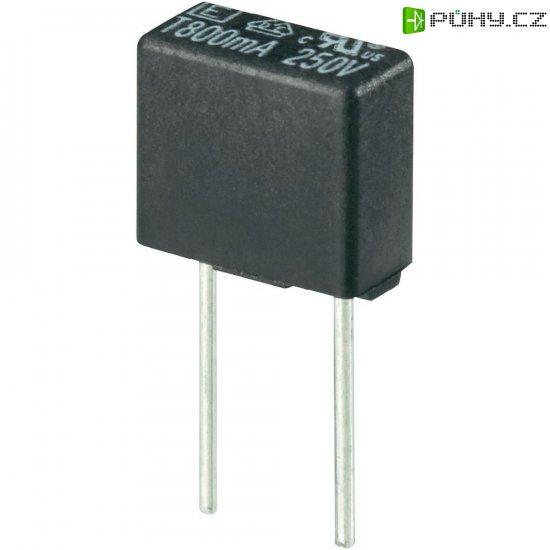 Miniaturní pojistka ESKA pomalá 883010, 250 V, 0,2 A, 8,35 x 4 x 7.7 mm - Kliknutím na obrázek zavřete