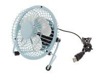 Ventilátor USB modrý HQ FN04BU