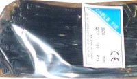 Stahovací páska 3,6x150mm černá, balení 100ks