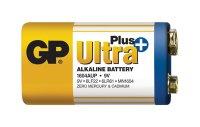 Baterie 6F22 (9V) alkalická GP Ultra Plus Alkaline 9V